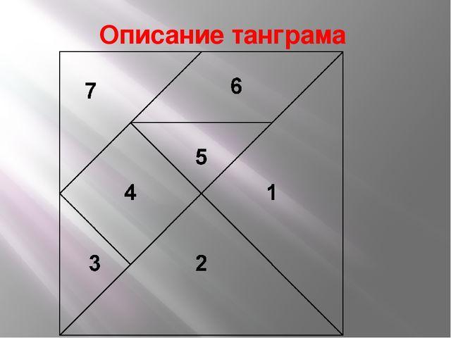 Описание танграма