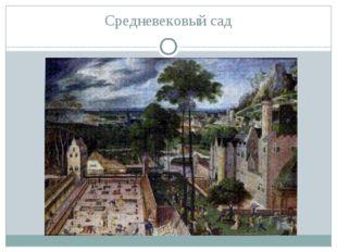 Средневековый сад