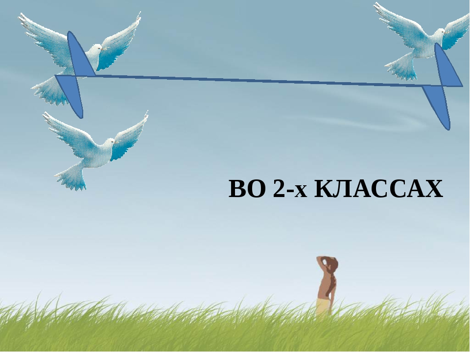 ВО 2-х КЛАССАХ « Праздник птиц»