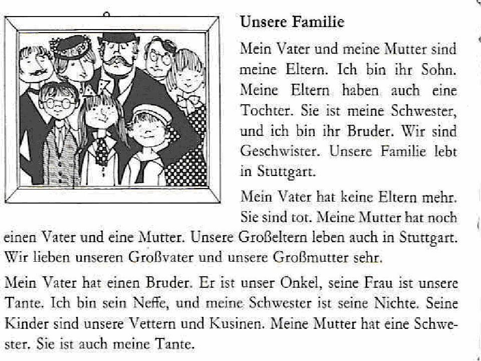 читать текст на немецком языке с переводом