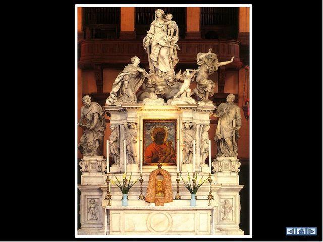 «Святой Марк и святые», 1510 В одной из капелл среди живописи XVII в. можно о...