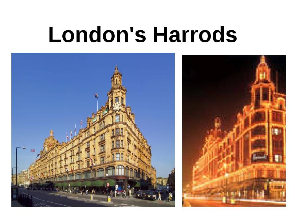 London's Harrods