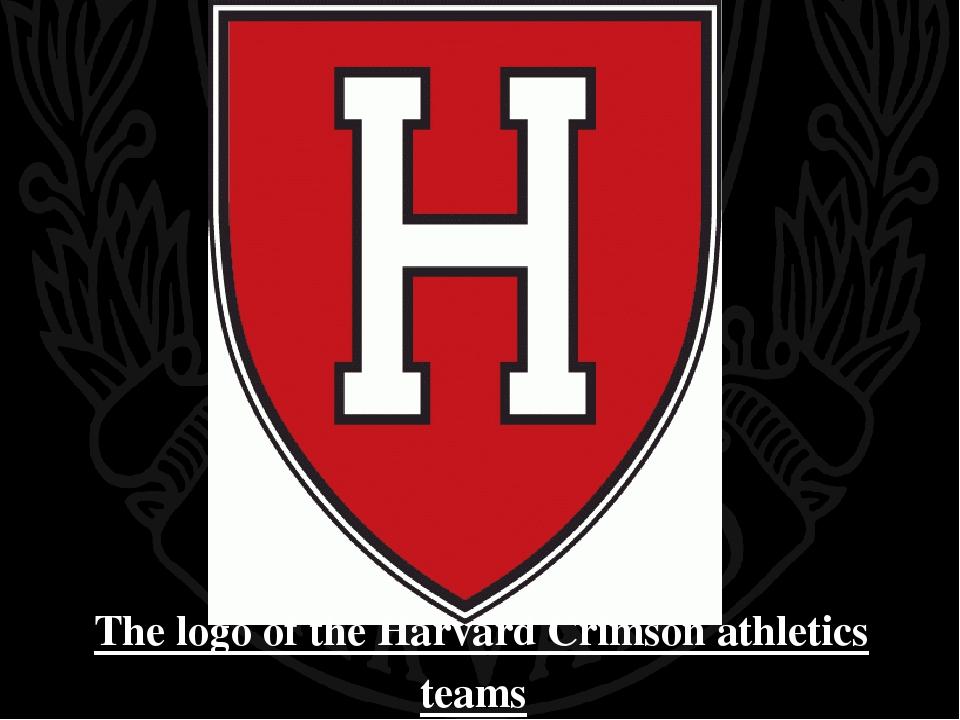 The logo of the Harvard Crimson athletics teams