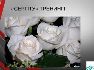 «СЕРГІТУ» ТРЕНИНГІ