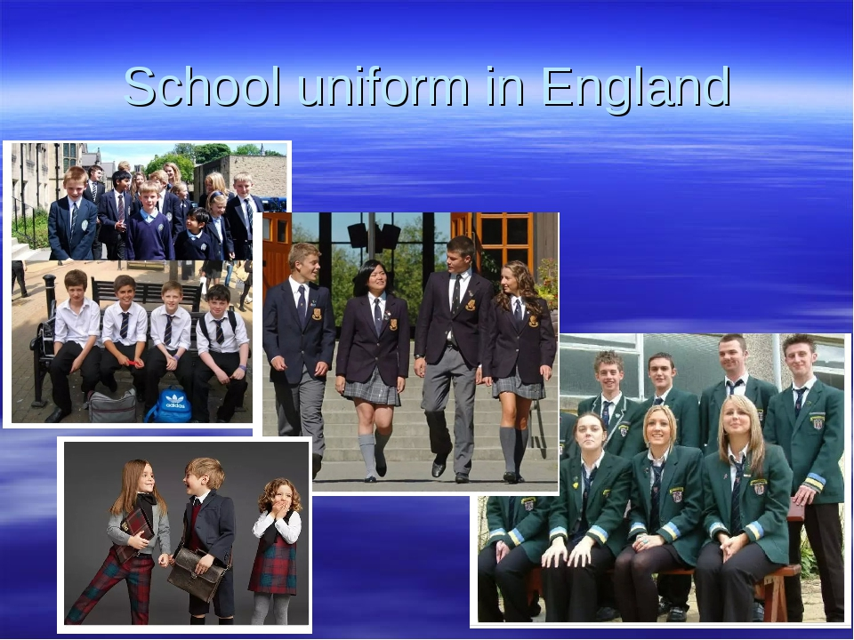 School uniform in England