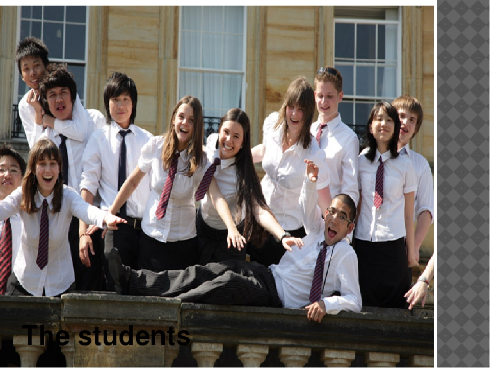 The students