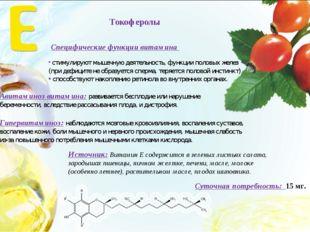 Авитаминоз витамина: развивается бесплодие или нарушение беременности, вследс