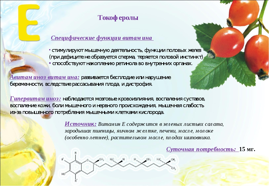 Авитаминоз витамина: развивается бесплодие или нарушение беременности, вследс...