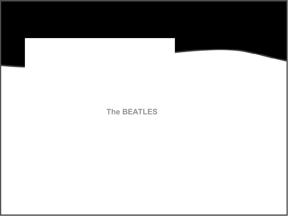 The double album, called The White Album which was released in November 1968.