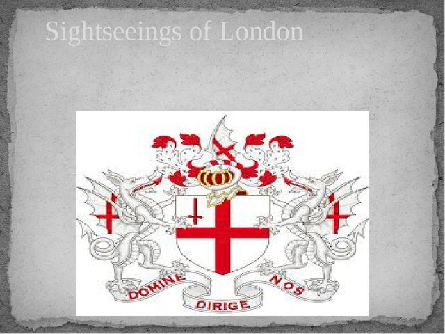 Sightseeings of London