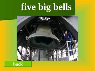 back five big bells