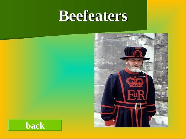 Beefeaters back
