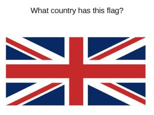 What country has this flag?