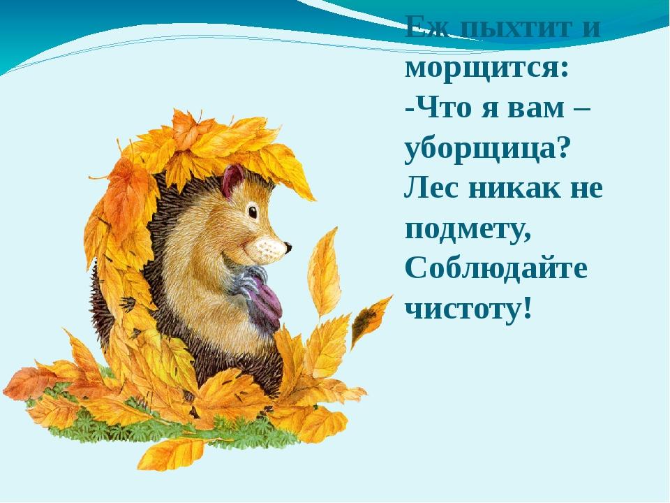 Как ты понимаешь? Объясни! Лето собирает, а зима поедает. Осень прикажет, а в...