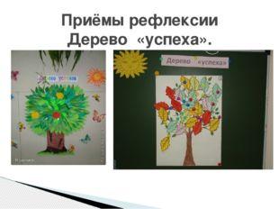 Приёмы рефлексии Дерево «успеха».
