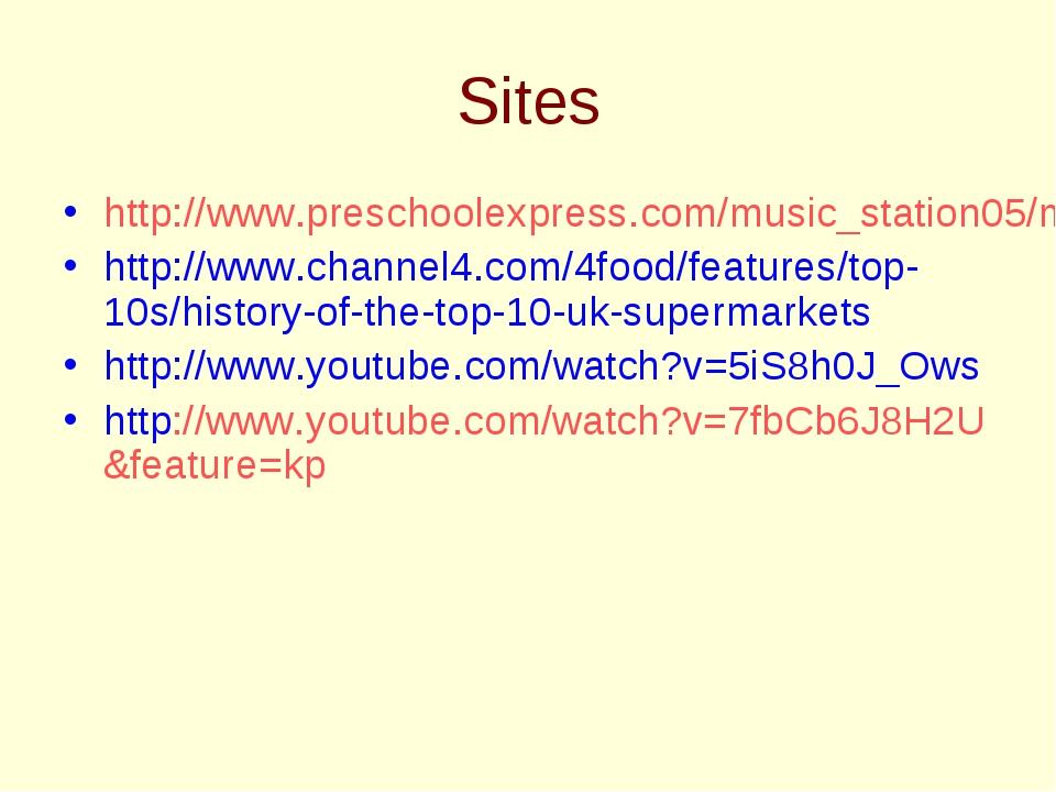 Sites http://www.preschoolexpress.com/music_station05/music_station_nov05.sht...