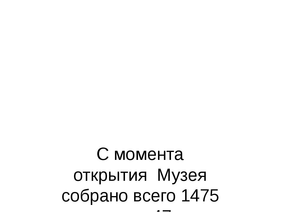 С момента открытия Музея собрано всего 1475 хомусов из 47 стран мира.. Основн...
