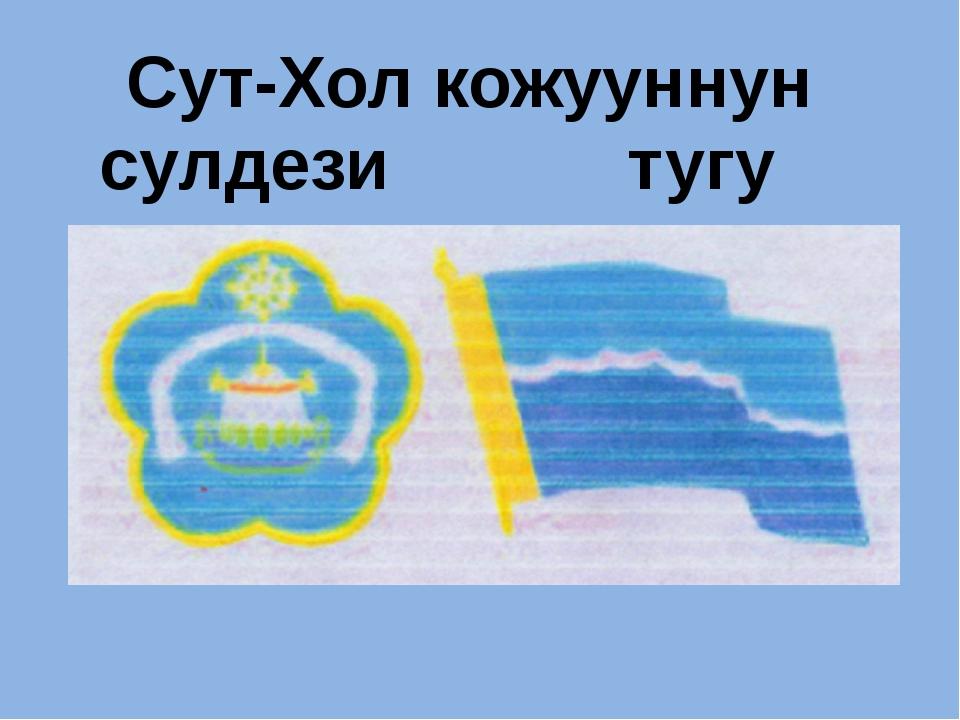 Сут-Хол кожууннун сулдези тугу