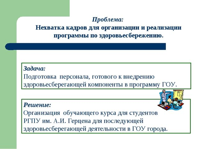 Решение: Организация обучающего курса для студентов РГПУ им. А.И. Герцена для...