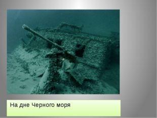 На дне Черного моря