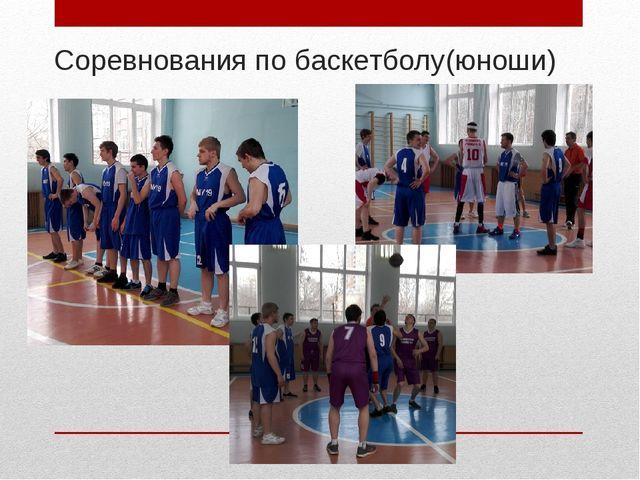 Соревнования по баскетболу(юноши)