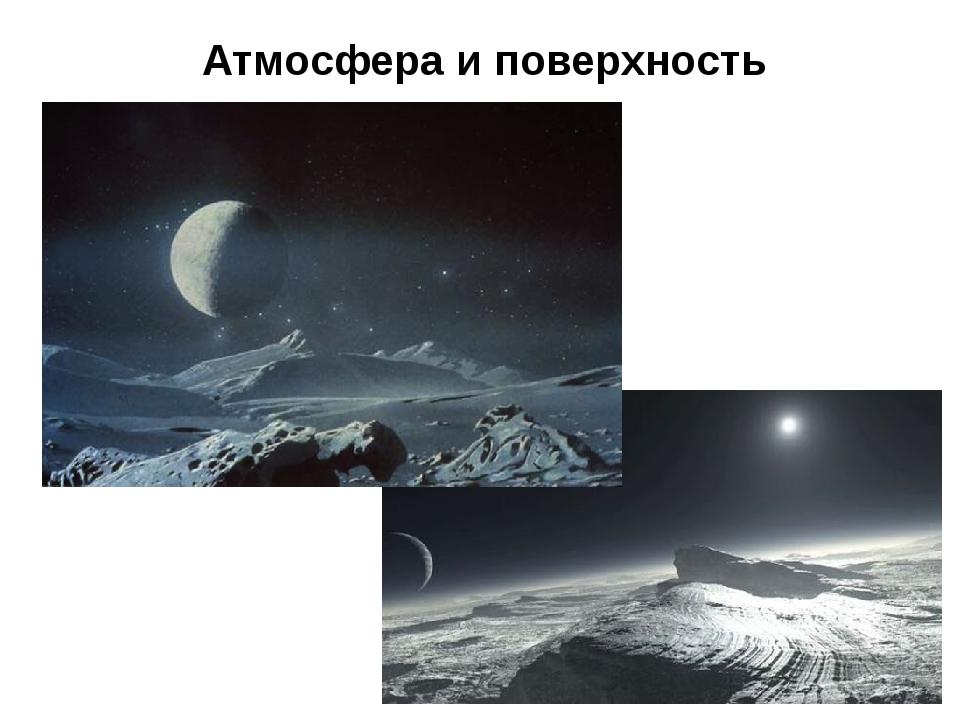 Атмосфера и поверхность
