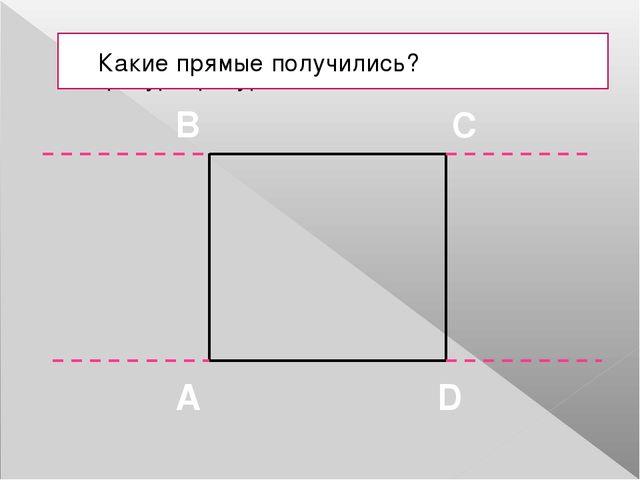 Определите, какая фигура изображена. Постройте такую же в тетради. Назовите п...