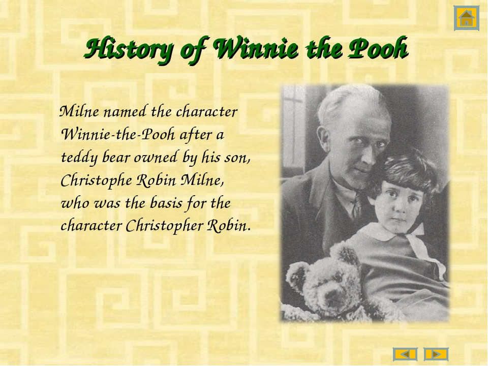 History of Winnie the Pooh Milne named the character Winnie-the-Pooh after a...