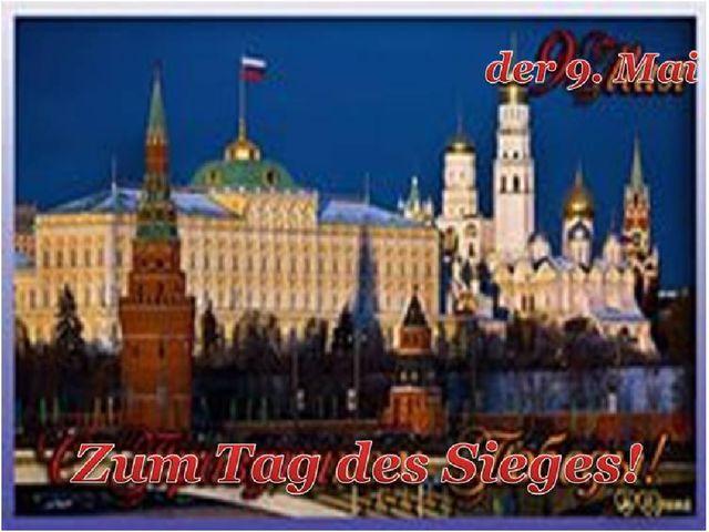Russland der 9. Mai Das Fest Tag des Sieges