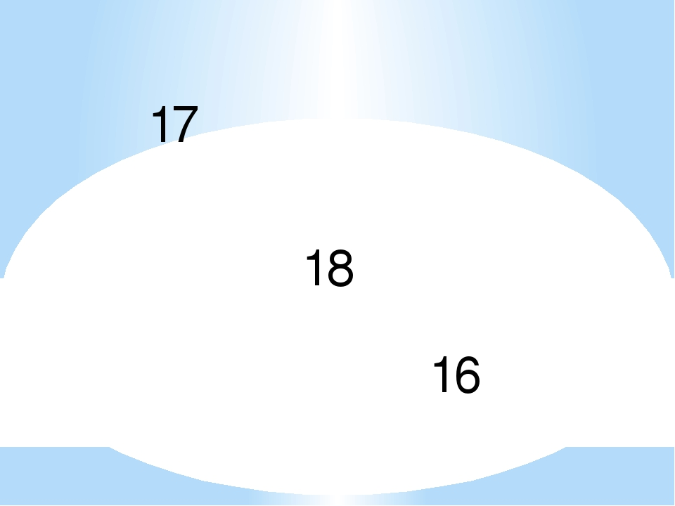17 18 16