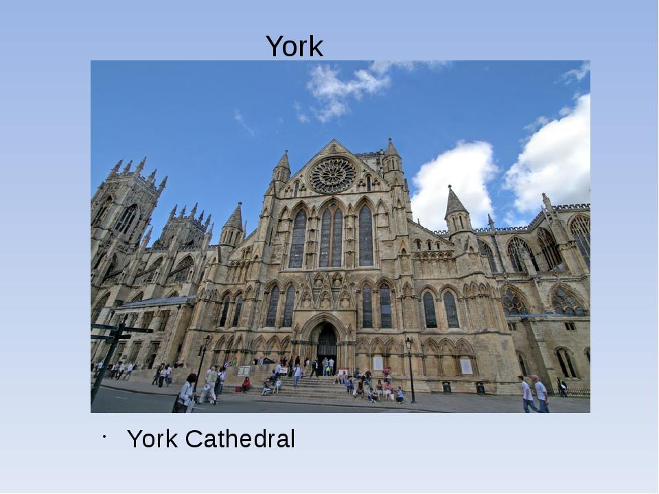 York York Cathedral