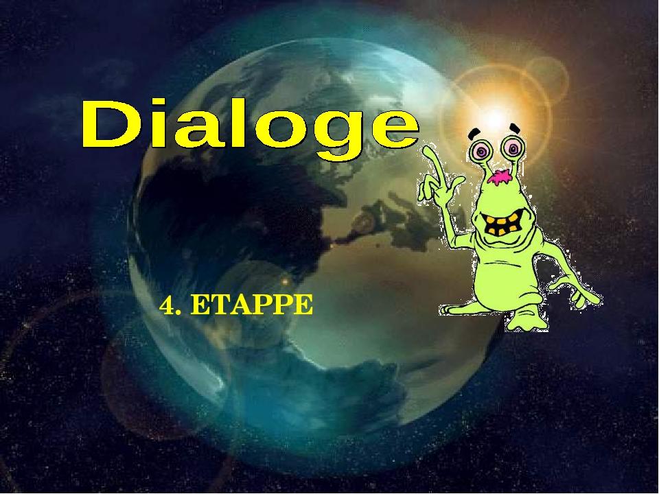 4. ETAPPE