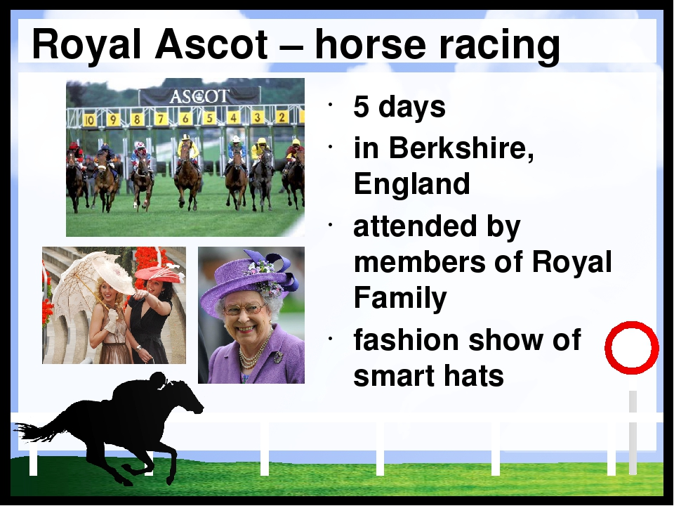 Royal Ascot – horse racing 5 days in Berkshire, England attended by members o...