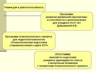 Программа психологического тренинга для педагогов-психологов «Психологическая