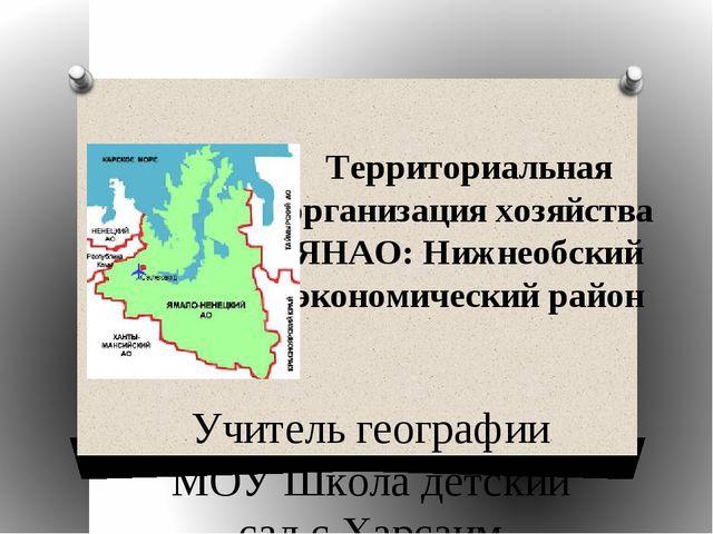 Территориальная организация хозяйства ЯНАО: Нижнеобский экономический район У...