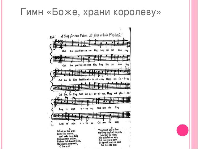 Гимн «Боже, храни королеву»