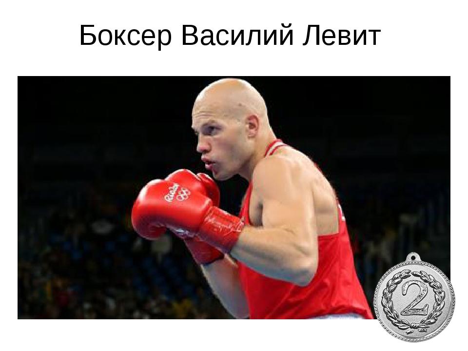 Боксер Василий Левит