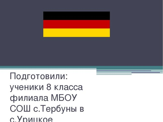 "Projekt ""Einkäufe in Deutschland? Kein Problem!"" Подготовили: ученики 8 класс..."