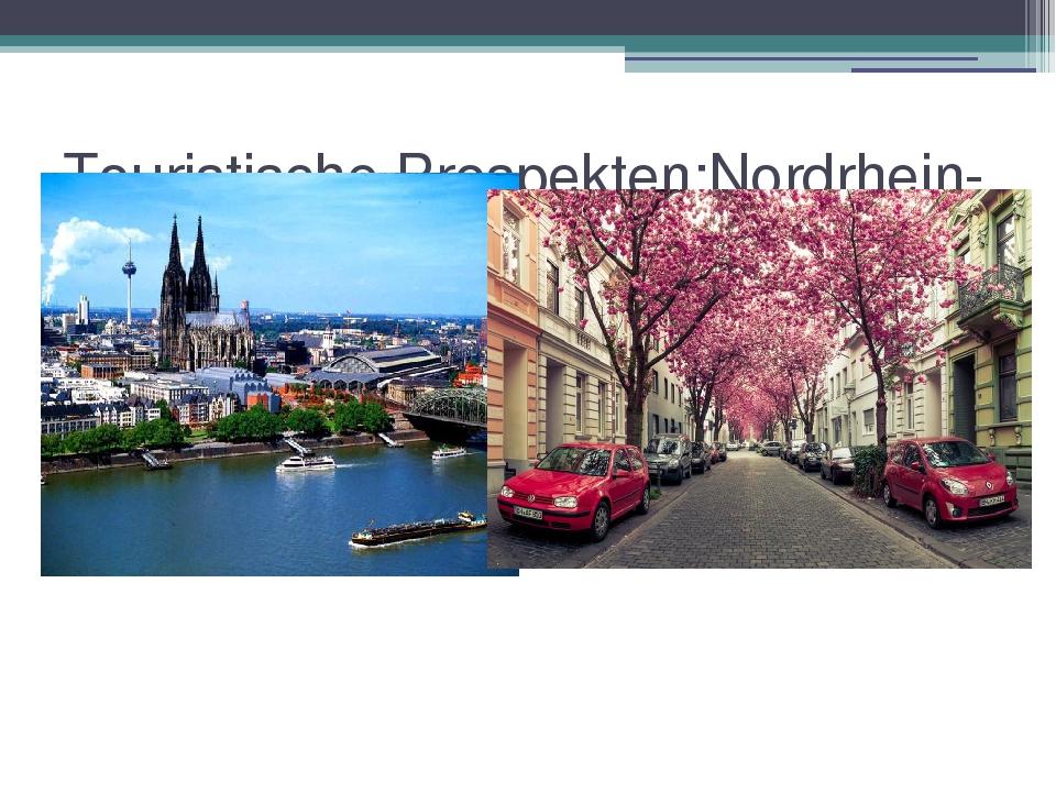 Touristische Prospekten:Nordrhein-Westfalen