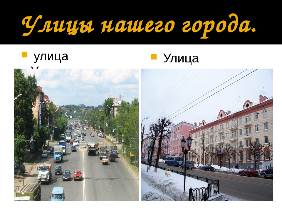 Улицы нашего города. улица Удмуртская Улица Пушкинская
