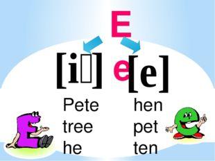 Ee hen pet ten Pete tree he