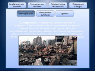 Геофизические явления Геологические явления Гидрологические явления Природны