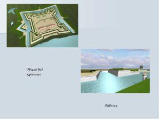 Общий вид крепости Равелин