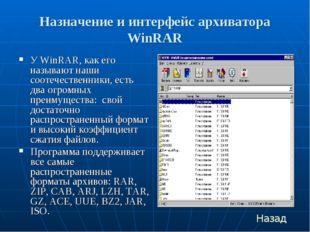 Назначение и интерфейс архиватора WinRAR У WinRAR, как его называют наши соот