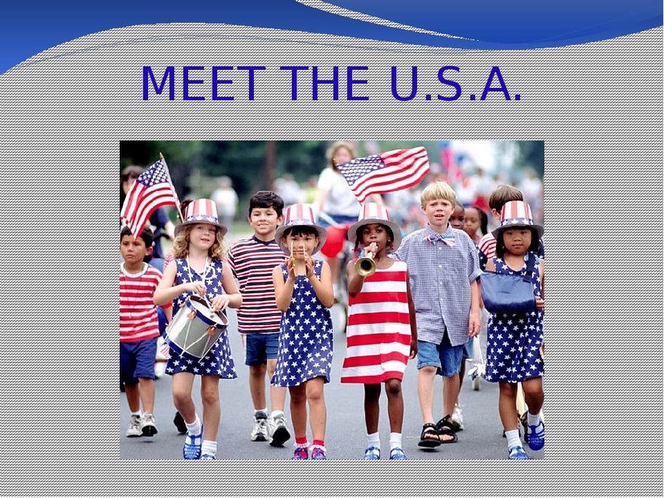 MEET THE U.S.A.