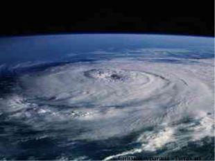 Снимок урагана «Рита» из космоса