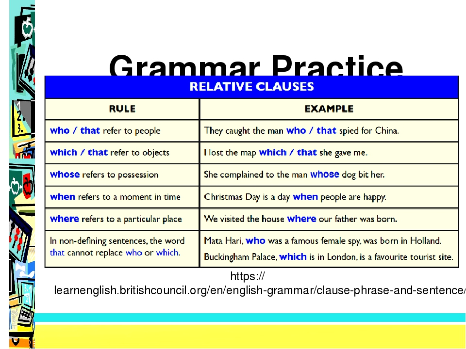 Grammar Practice http://www.englishexercises.org/makeagame/viewgame.asp?id=8...