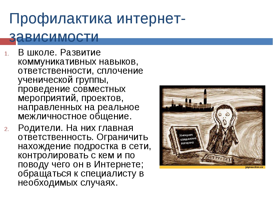 Профилактика интернет-зависимости В школе. Развитие коммуникативных навыков,...