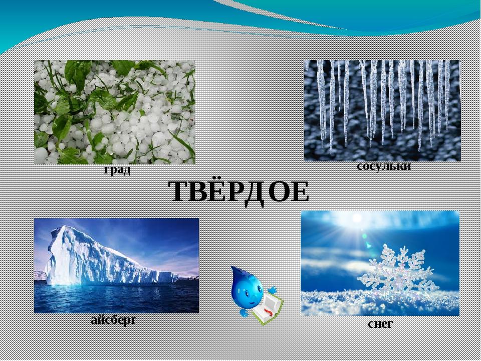 ТВЁРДОЕ град сосульки айсберг снег