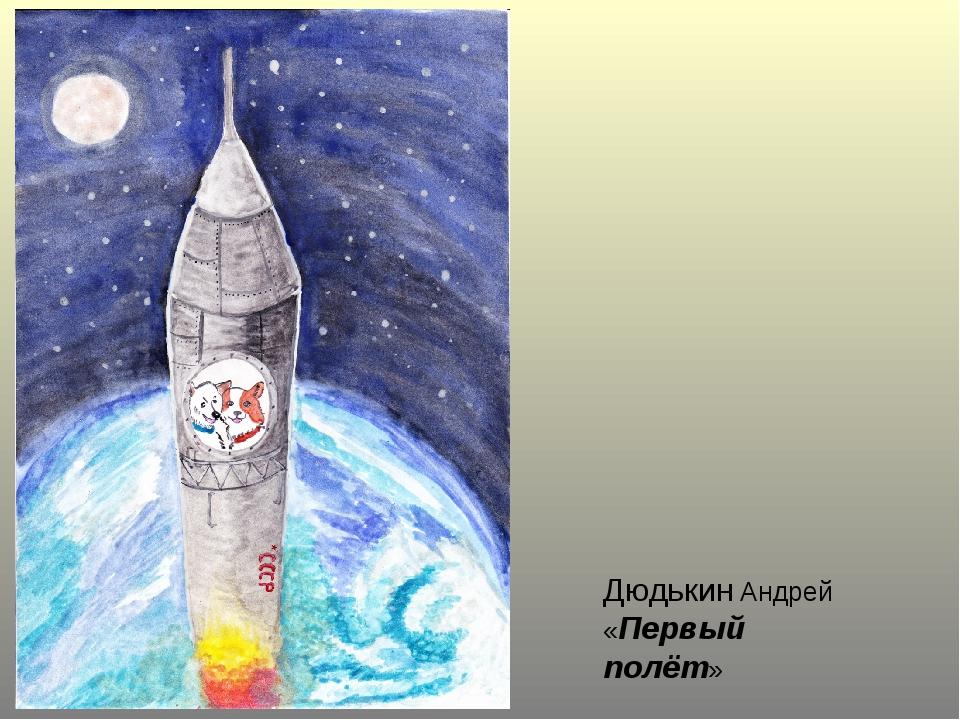 Дюдькин Андрей «Первый полёт»